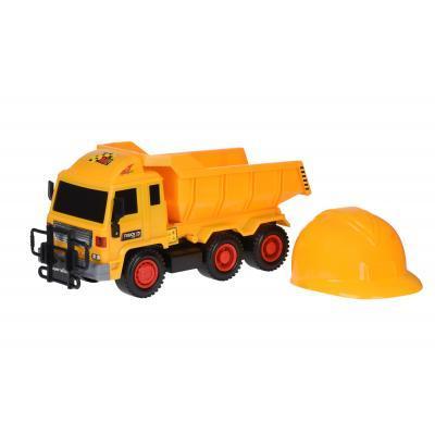 Спецтехника Same Toy Builder Самосвал + каска (R6005-3Ut)