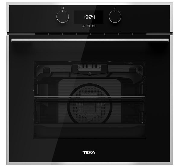 Духовой шкаф черный с пиролизом  TEKA HLB 840 P