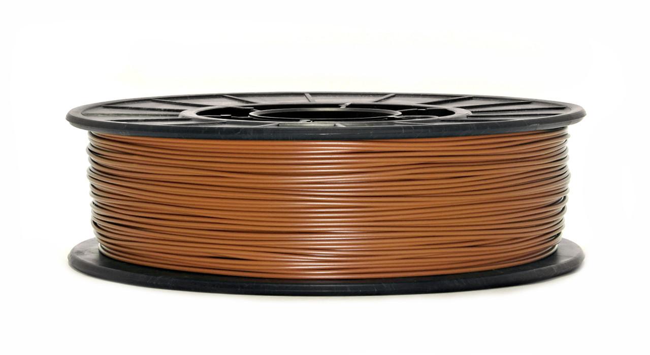 Нить ABS Premium (АБС) пластик для 3D принтера, Светло коричневый (1.75 мм/0.75 кг)