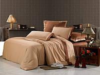 Однотонное постельное белье 200х220*70х70 Valtery сатин OD-16