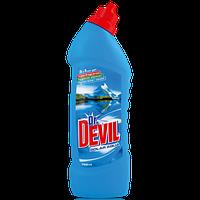 Dr.DEVIL 3в1 Polar Fresh средство для WC 750 мл, фото 1