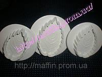 Плунжер для мастики Листик розы , фото 1