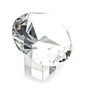 """Кристалл хрустальный на подставке """"Бриллиант"""" (10 см)(6079)"""