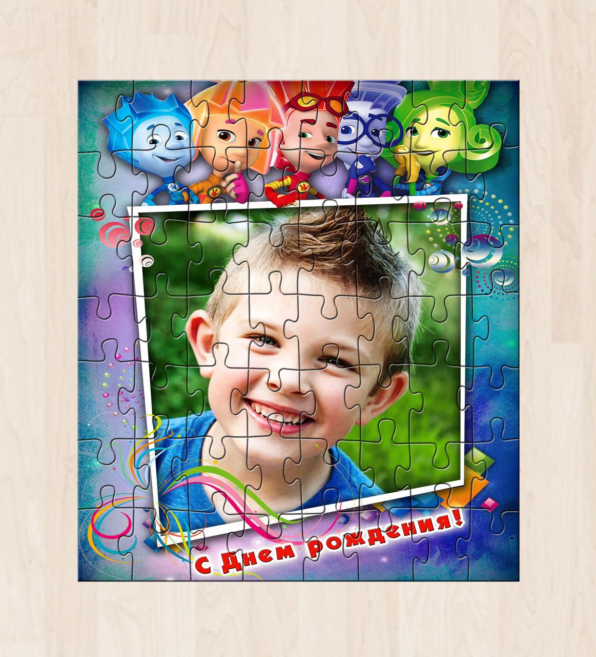 Фотопазлы для детей Фиксики