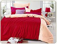 Однотонное постельное белье 200х220*70х70 Valtery сатин OD-36