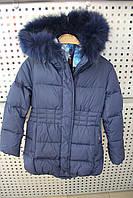 Пальто девочка Snowimage junior SICBY-V612/Синий