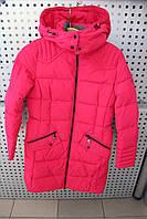Пальто девочка Snowimage junior SICBY-V707/Малиновый