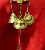 Колокольчики дверные бронзовые (29х12х12 см)(Bell Wall Bracket)