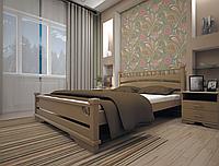 Кровать из натурального дерева Атлант 1