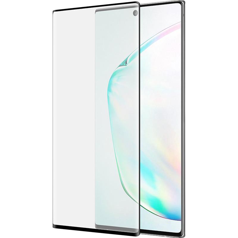 Захисне скло 3D PowerPlant для Samsung Galaxy Note 10 Plus, Black