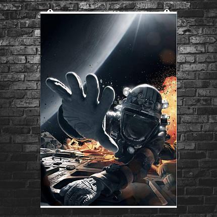 """Постер """"The Expanse. Взрыв в космосе"""", сериал. Размер 60x43см (A2). Глянцевая бумага, фото 2"""