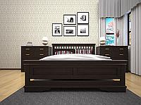Кровать из натурального дерева Атлант 13