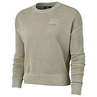Толстовка Nike Rebel Crew Sweatshirt Green - Оригинал