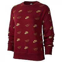 Толстовка Nike Shine Crew Red - Оригинал