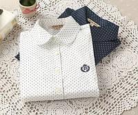 Стильная блузка в горошек, фото 1