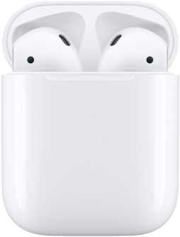 Apple AirPods 2019 (MRXJ2RU/A) with Wireless Charging Case