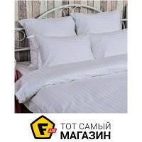 Комплект постельного белья евро 205x225 см хлопок белый Руно 845.50ДУ 2x2 50x70см, евро