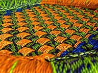 Табурет плетеный (40х36х36 см) MUDA REED STICK