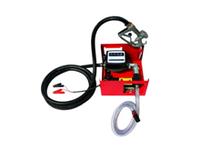 Насос для перекачки топлива, помповый, 24В, счетчик+пистолет <ДК> 1639802273 (DK8020-24V)
