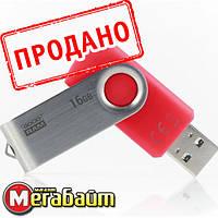Flash drive USB3.0 16GB GOODRAM UTS3 (Twister) Red (UTS3-0160R0R11), фото 1