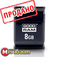 Flash Drive Goodram PICCOLO 8 GB Black