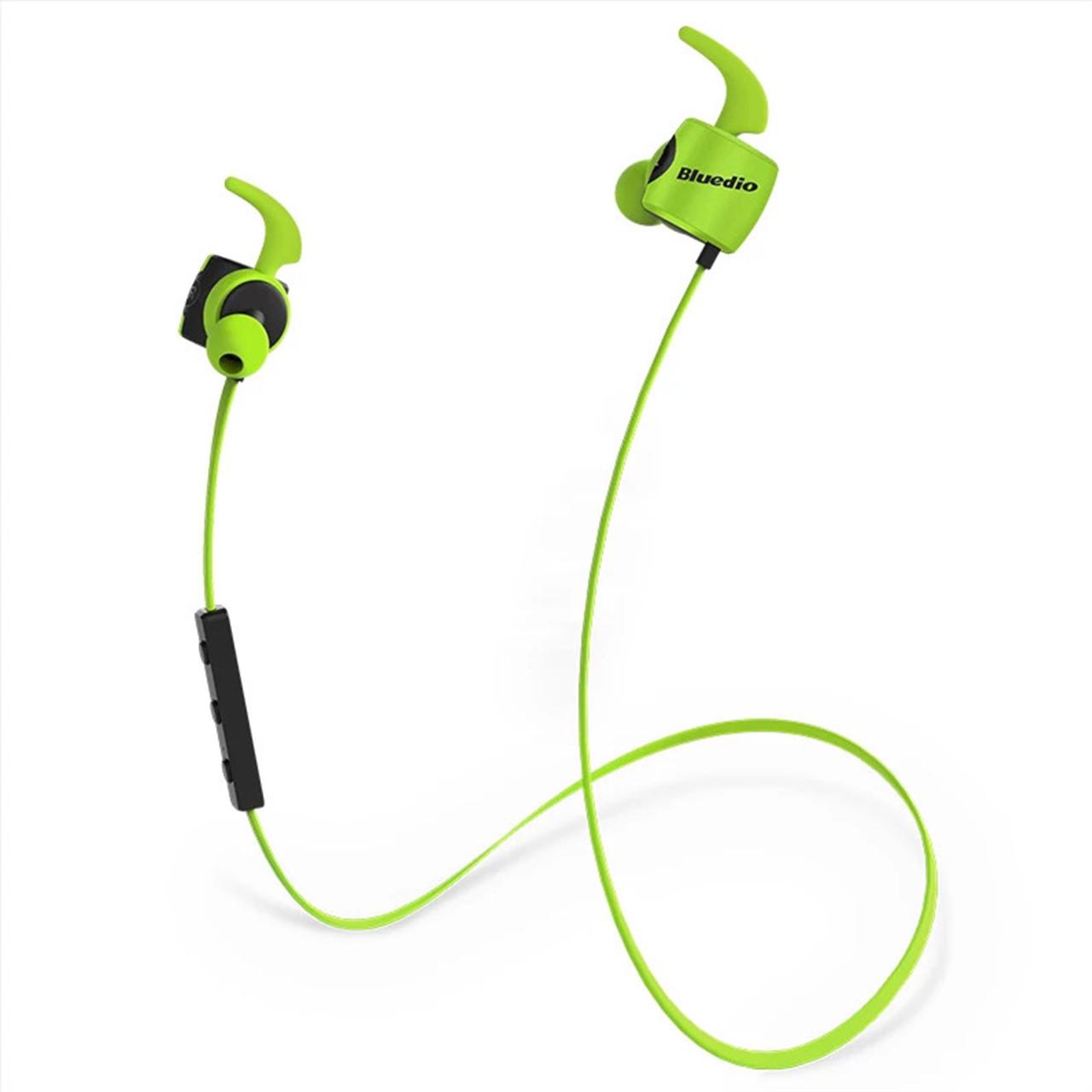 Беспроводная Bluetooth гарнитура Bluedio TE Sport Green (3038-9573)