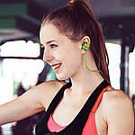 Беспроводная Bluetooth гарнитура Bluedio TE Sport Green (3038-9573), фото 7