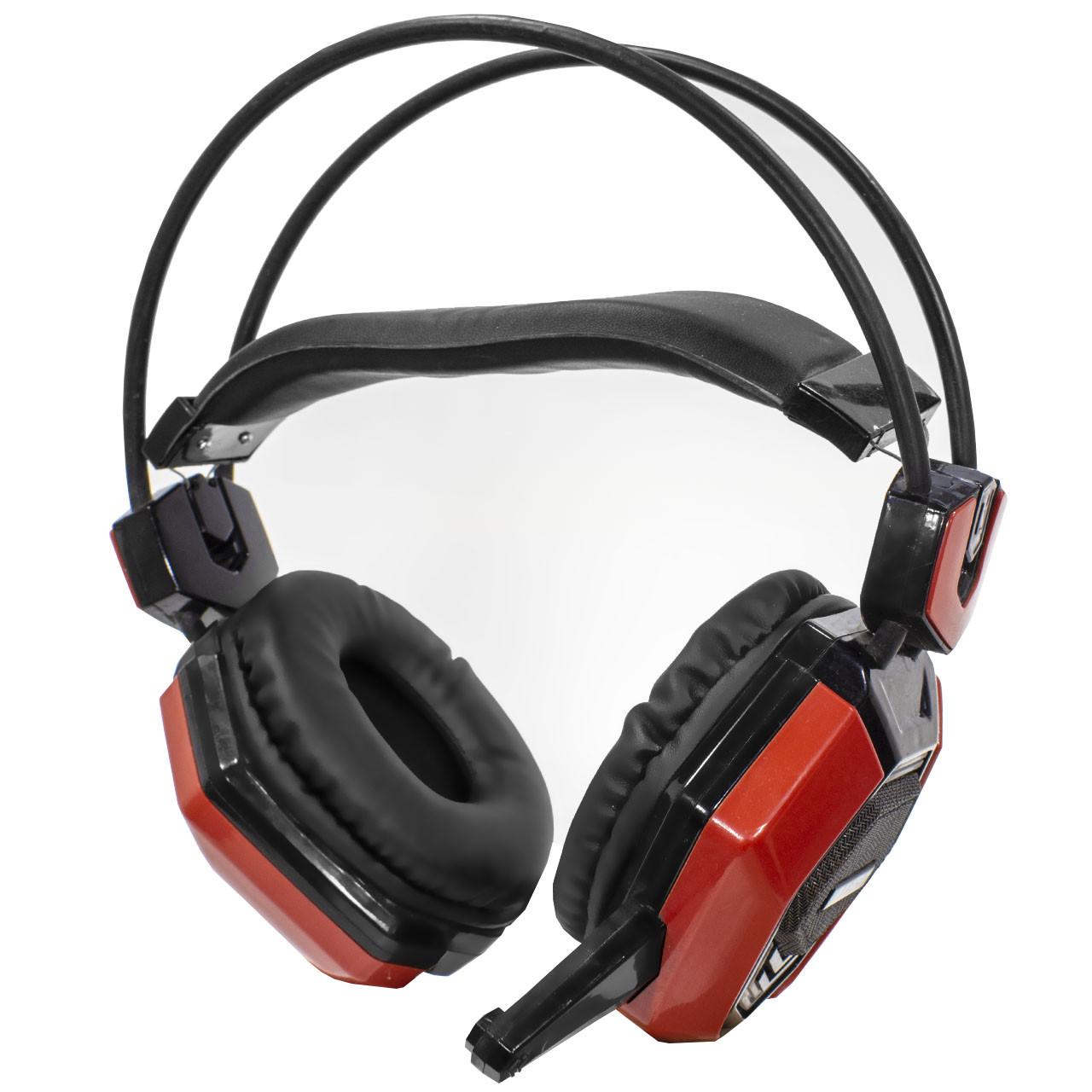 Проводная гарнитура JEQANG JH-2015 с микрофоном Black/Red (3246-9557)