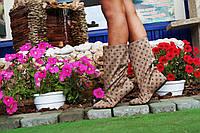 Полусапожки женские в стиле Луи Витон.  Арт-0260, фото 1