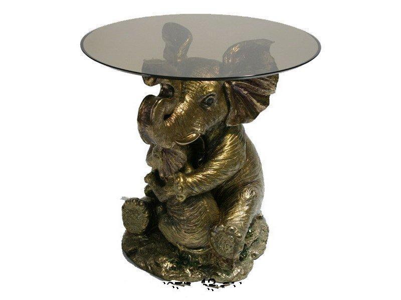 Статуэтка-столик Lefard Слон 48 см 118-337