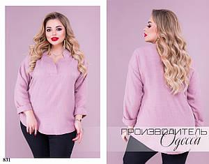 Блуза классическая креп 50-52,54-56,58-60