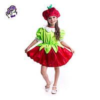 Карнавальный костюм Клубничка,клубника, фото 1