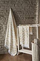 Набор полотенец  для сауны Luxury Jacquard Judy Gold Турция