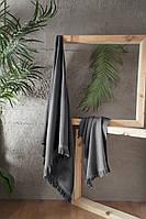 Набор полотенец  для сауны First Choice Jacquard Kaia Fume Турция