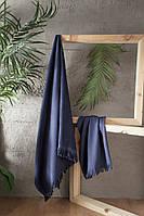Набор полотенец  для сауны First Choice Jacquard Kaia Lacivert Турция