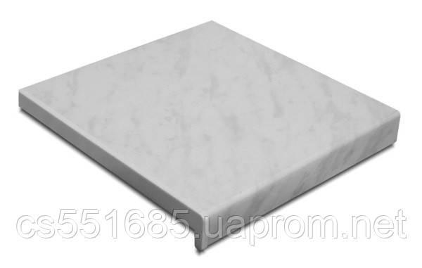 100 мм - Мрамор подоконник пластиковый Стандарт Elyzium Plast  (Элизиум пласт)