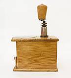 Старая ручная механическая деревянная кофемолка, Германия, Mokka D.R.P. Muhl GESTO, фото 5