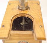 Старая ручная механическая деревянная кофемолка, Германия, Mokka D.R.P. Muhl GESTO, фото 8