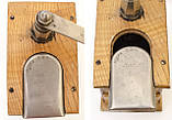 Старая ручная механическая деревянная кофемолка, Германия, Mokka D.R.P. Muhl GESTO, фото 9