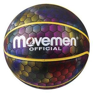 Мяч баскетбольный радужный голографическое покрытие Molten PU размер 7