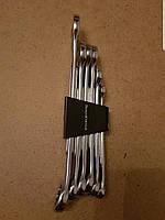 Набор комбинированных ключей 6 шт.( Хромовые), фото 1