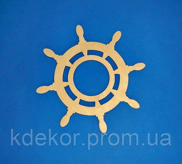 ШТУРВАЛ (діаметр 32см.) заготівля для декупажу та декору