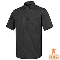 Сорочка Helikon-Tex® DEFENDER Mk2 Shirt short sleeve® PolyCotton Ripstop - Black