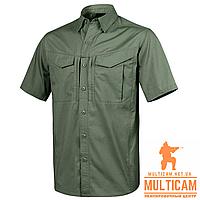 Рубашка Helikon-Tex® DEFENDER Mk2 Shirt short sleeve® PolyCotton Ripstop - Olive Green