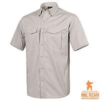 Сорочка Helikon-Tex® DEFENDER Mk2 Shirt short sleeve® PolyCotton Ripstop - Khaki, фото 1