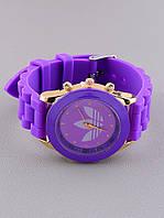 Силиконовый. Часы детские, адидас. Дитячий годинник. Дитячі часи. Жіночий. БЕЗ водонепроницаемый.