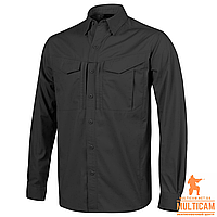 Рубашка Helikon-Tex® DEFENDER Mk2 Shirt long sleeve® - PolyCotton Ripstop - Black