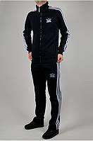 Зимний теплый спортивный костюм Adidas Утепленные штаны  утепленная кофта Чоловічий, зимовий спортивний адидас