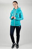 Женский зимний спортивный костюм Puma. Утепленные штаны + утепленная кофта. Жіночий зимовий спортивний пума.