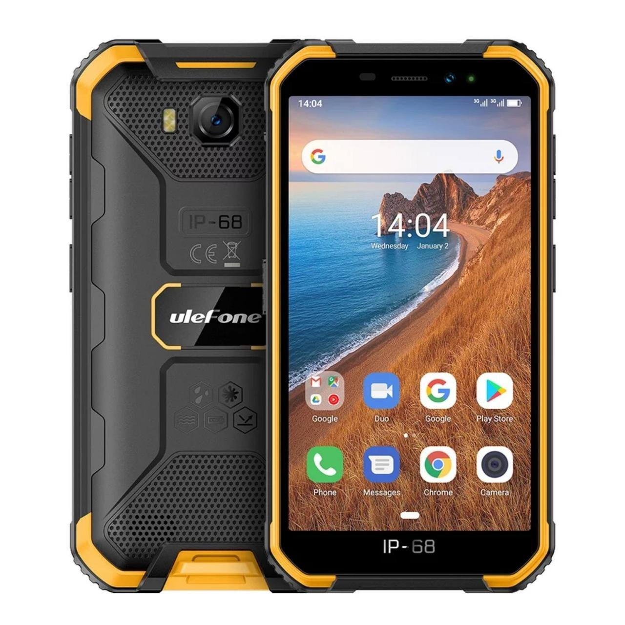 Смартфон Ulefone Armor X6 Orange 2/16GB 4000 мА·ч IP69 НОВИНОЧКА!